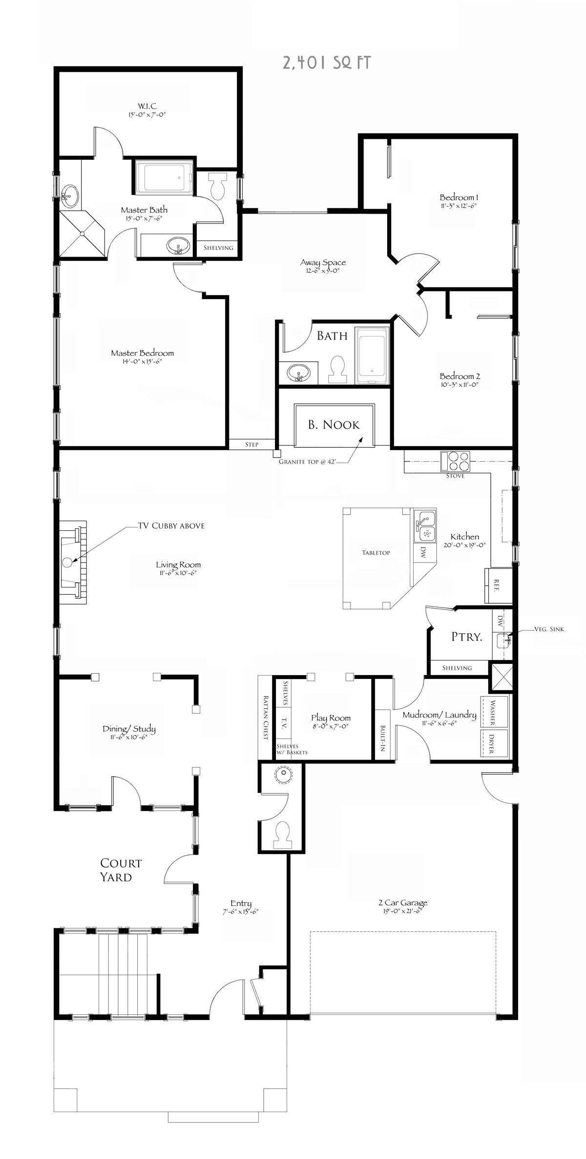 Jamestown Bungalow Dream House Plan House Plans House Floor Plans Bungalow House Plans