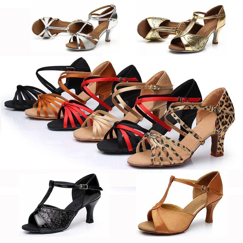 e6b309d7 Cheap Venta caliente a estrenar zapatos de baile latino zapatos para las  damas / niñas /