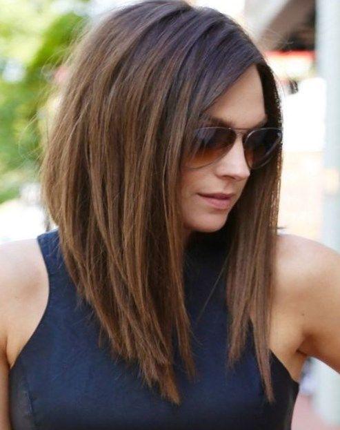 shoulder length hair style
