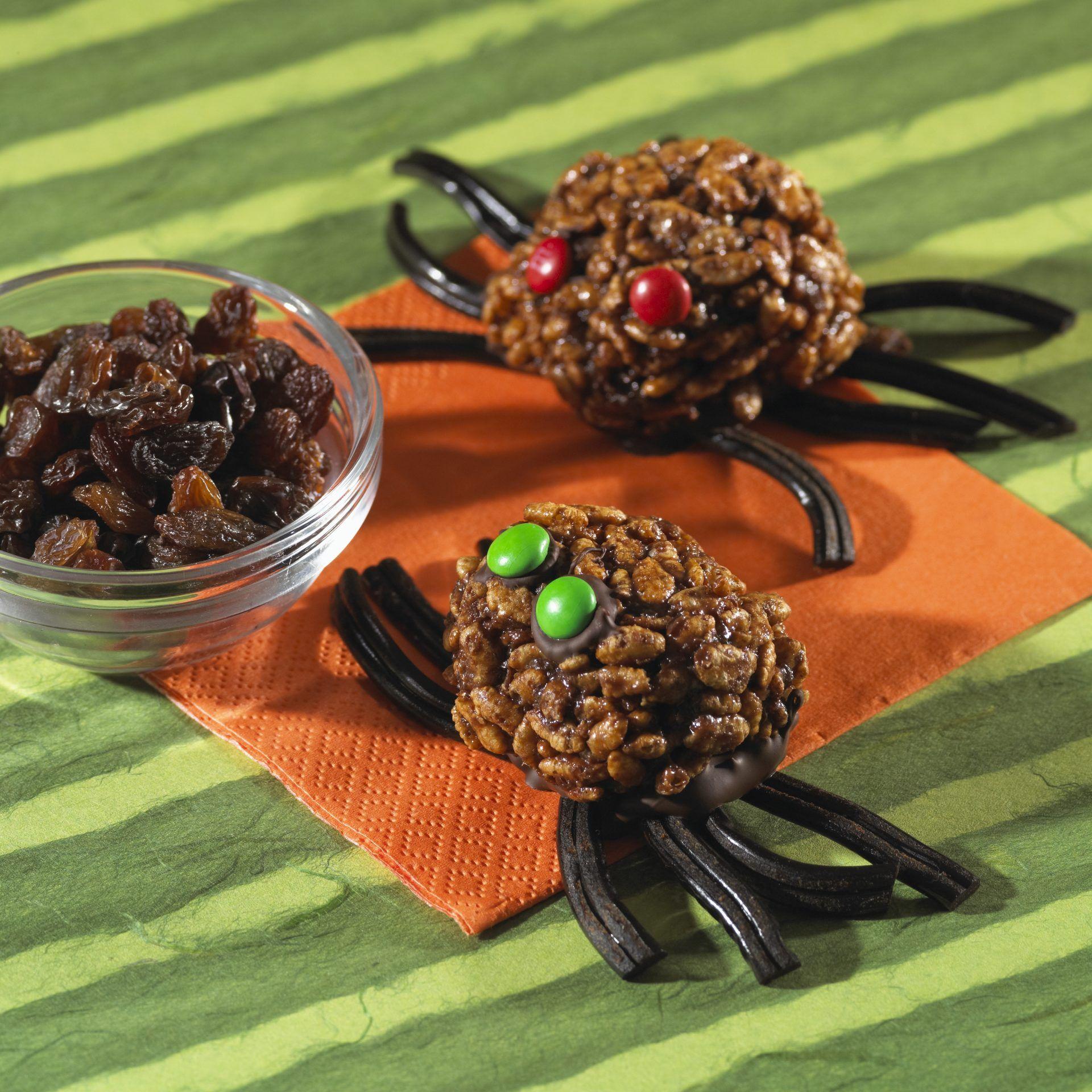 Gruseliges Getier zum Vernaschen Halloween snacks für