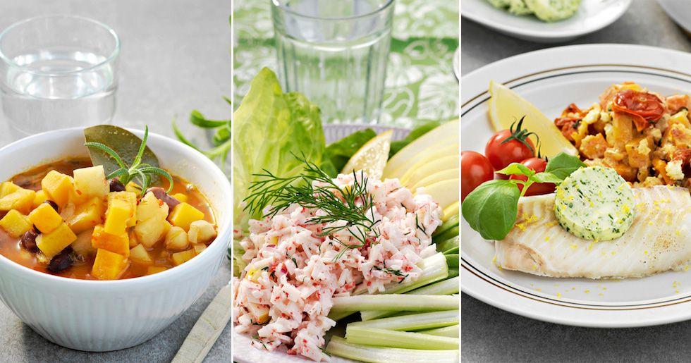 måltider för att gå ner i vikt