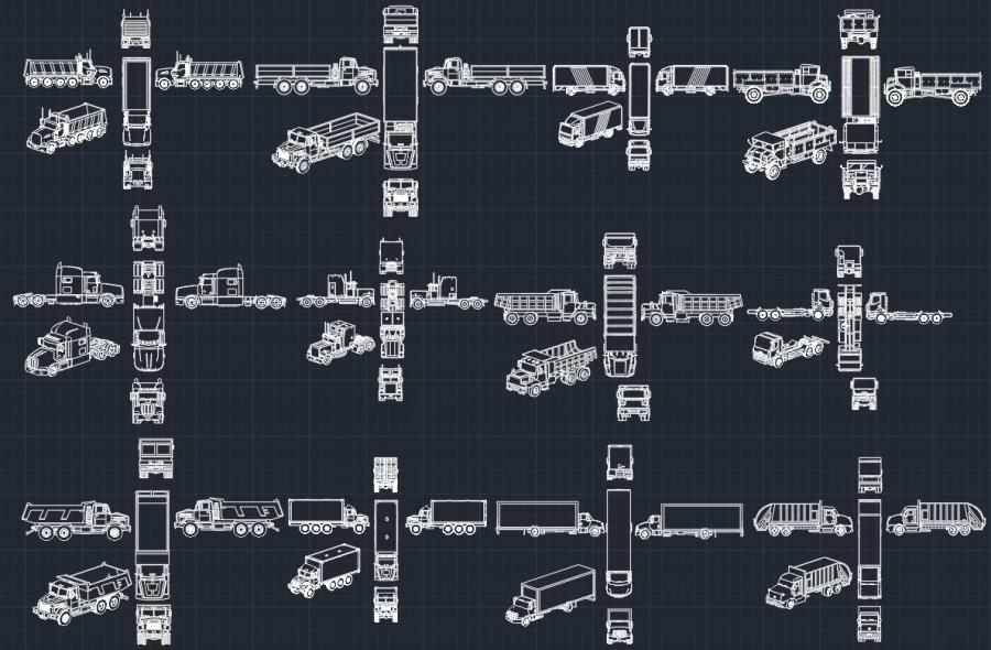 Truck Drawing Free Truck Drawing Cad Block Dump Truck