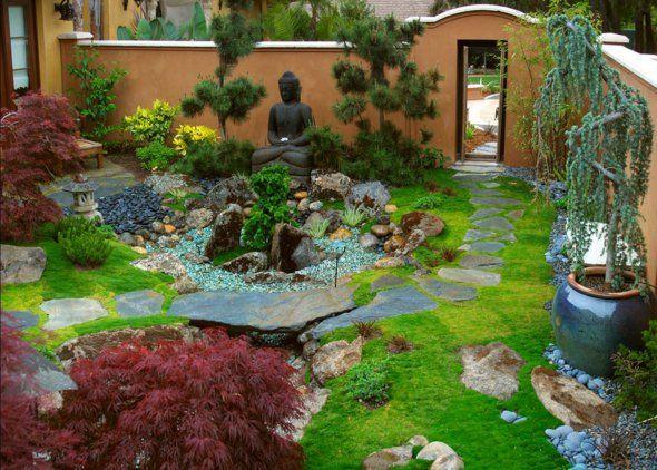 60 idées pour un jardin rocaille d\'inspiration japonaise à ...