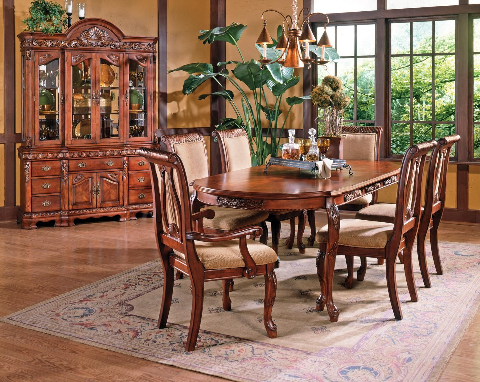Lovely Harmony 7 Piece Dining Set By Steve Silver