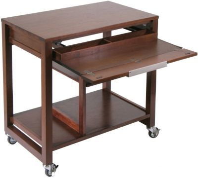 Shop Staples® for Winsome Composite Wood Computer Desk With Casters, Antique Walnut and enjoy everyday low prices, plus FREE shipping on orders over $39.99. Get everything you need for a home office or business right here.