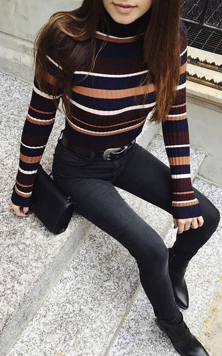 15 Trendy Turtleneck Outfits That'll Keep You Warm