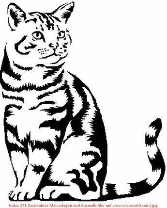 Katze 271 Kostenlose Malvorlagen Und Ausmalbilder Auf Www Wicoworld Com Jpg 600 747 Wood Burning Patterns Stencil Cat Art Animal Drawings