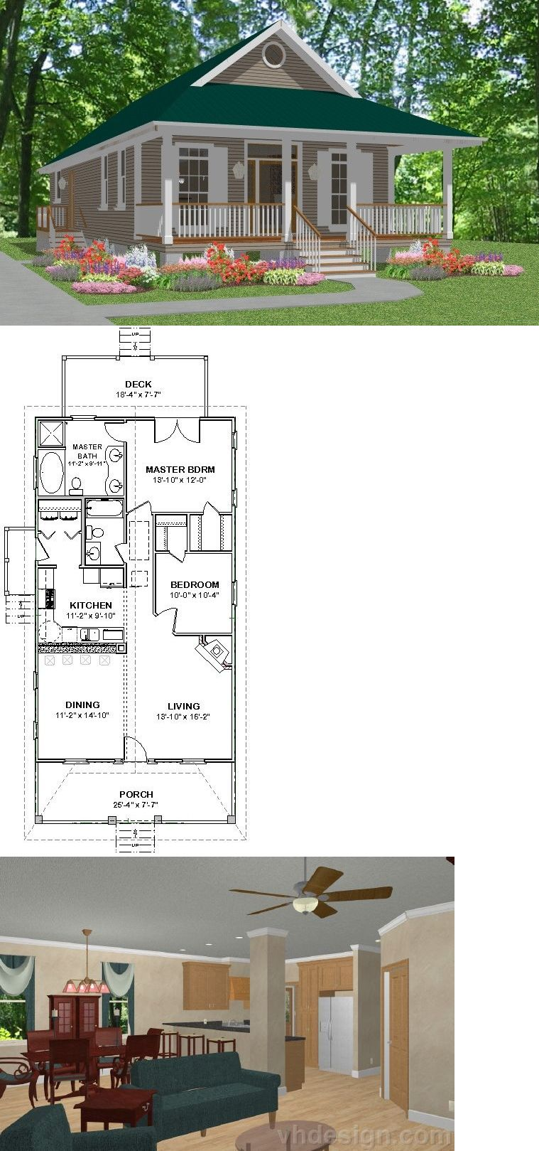 Custom Small House Home Building Plans 2 Bed Cottage1170 Sf Pdf File Building Plans House House Blueprints Barn House Plans