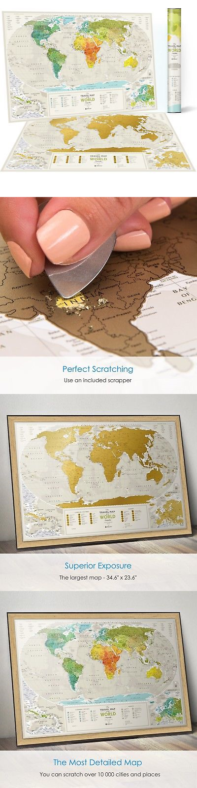 Other travel maps 164807 detailed scratch off places world map other travel maps 164807 detailed scratch off places world map premium edition 346 gumiabroncs