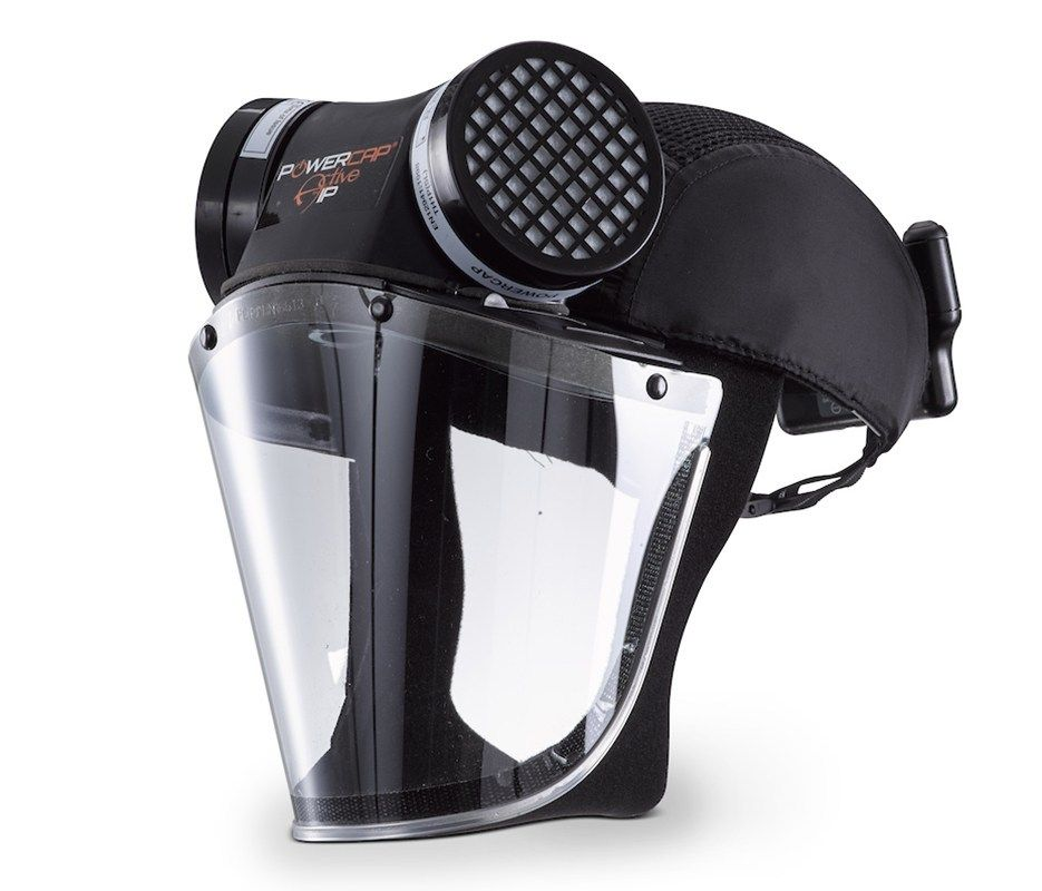 Powercap Active Particulate Ip Papr Respirator Gas Mask Face Mask Mask Design