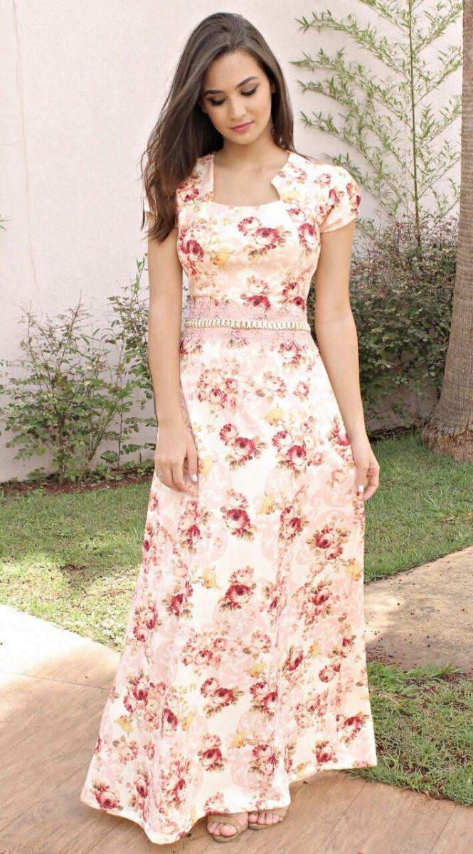 daba89824 Resultado de imagem para revista com modelos de vestidos evangelicos para  costura