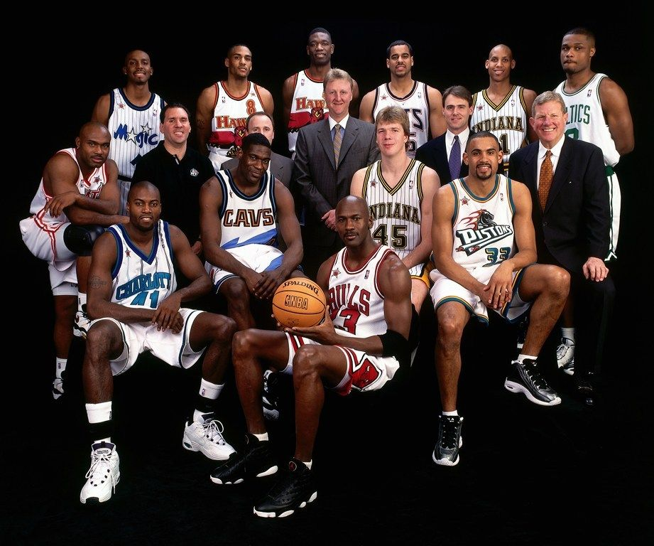 1998 MVP Michael Jordan All star