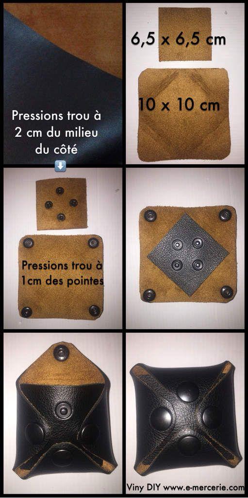 a215dd1aad Porte monnaie homme sans couture Tuto gratuit | Couture | Porte ...