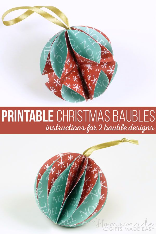 Photo of Easy to Make Christmas Ornaments