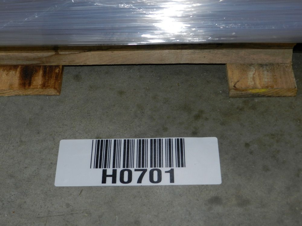 Warehouse floor barcode labels consumables media for Floor labels