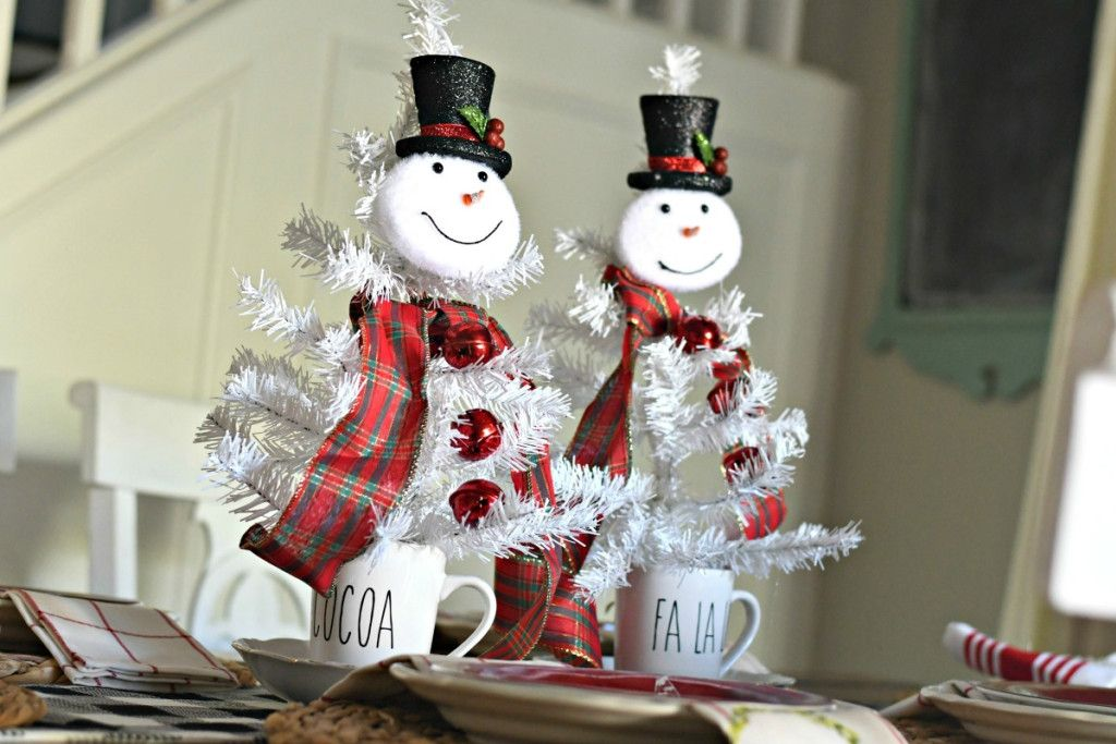 3 Simple & Fun DIY Dollar Tree Christmas Centerpieces in