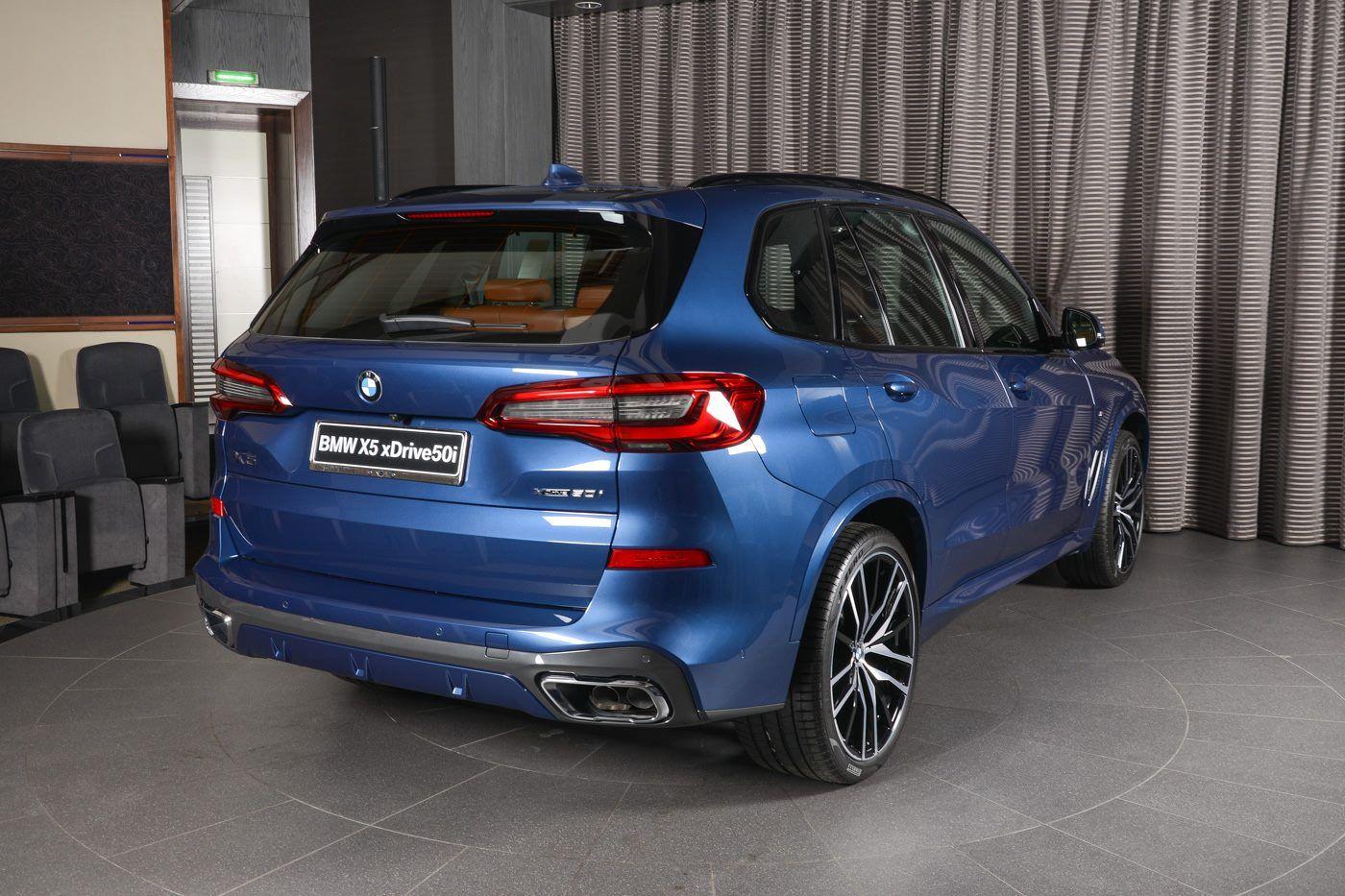 New 2019 Bmw X5 50i Looks Great In Phytonic Blue Bmw Bmw X5 Blue