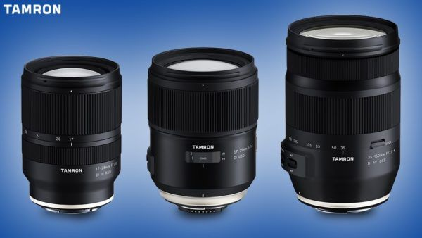Tamron Fe 17 28mm F2 8 Sp 35mm F1 4 35 150mm F2 8 4 Lenses Announced Today Tamron Has Officially Announced The Dev Tamron Mirrorless Camera Family Snapshots