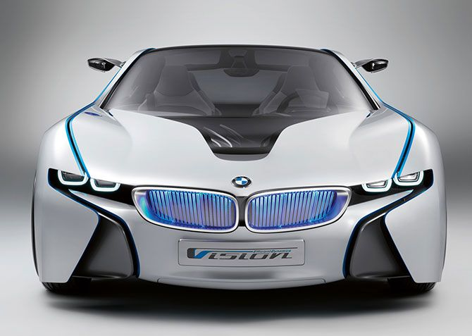 BMWs New Vision MPH PlugIn Hybrid BMW Bmw Concept And - All new bmw cars