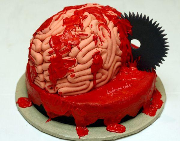 Brilliant 20 Creepy Spooky And Scary Halloween Cakes Scary Cakes Horror Funny Birthday Cards Online Inifofree Goldxyz