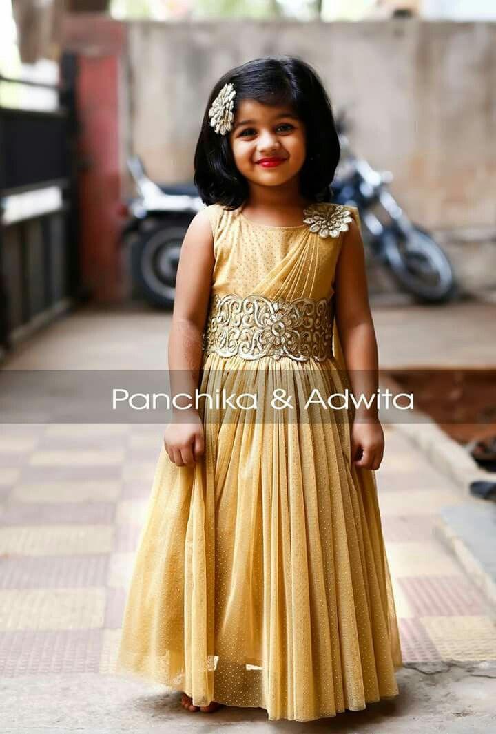 b16fd7a7c Thanu Frocks For Girls, Kids Frocks, Frock Design, Baby Girl Fashion,  Toddler