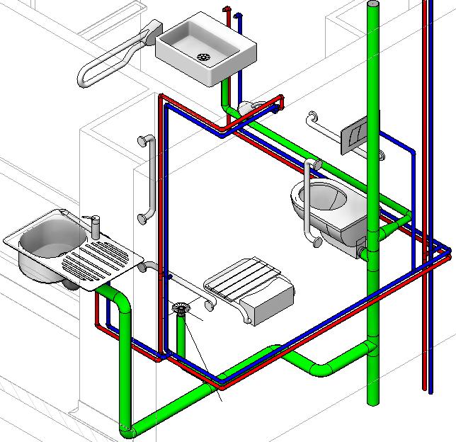Revit m mo revit 2015 mep plomberie canalisations tuto revit pinterest revit architecture - Evacuation eaux usees maison ...