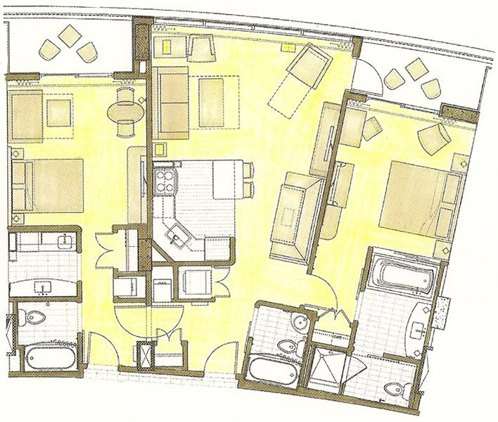 BLT One- and Two-Bedroom Vacation Homes | Bay lake tower ...
