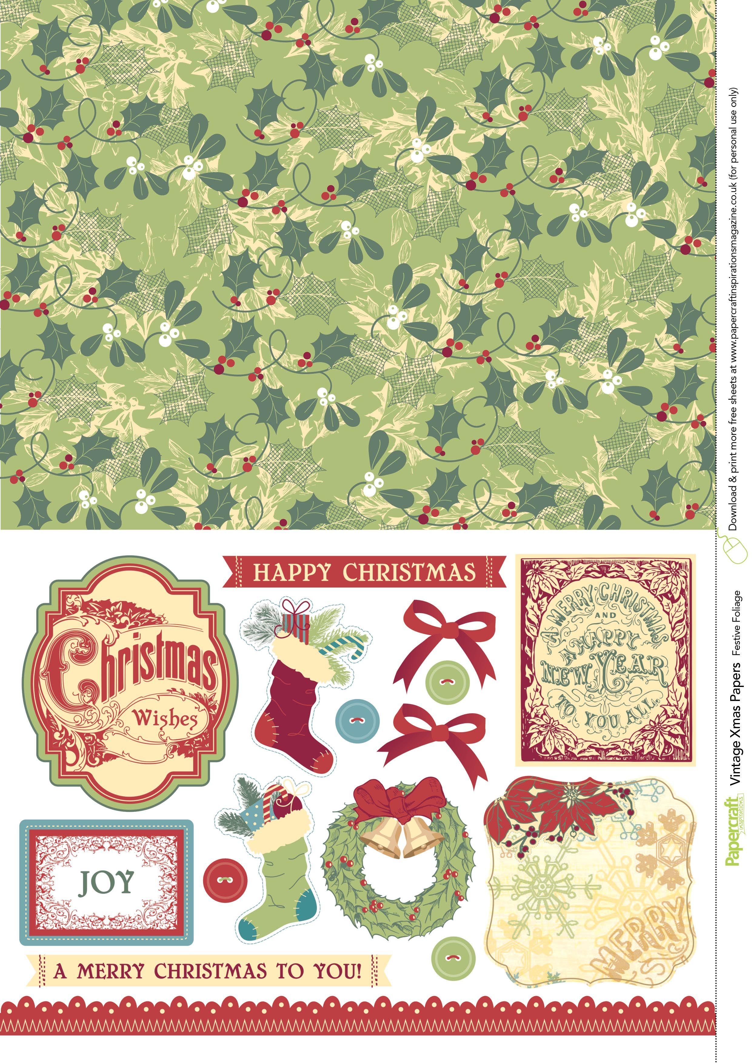 Add A Nostalgic Feel To Your Festive Makes With These