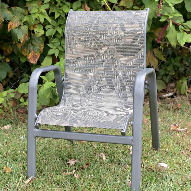 How to replace fabric on a sling chair ofs makers mill