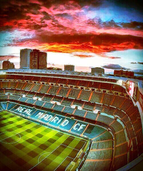 Estadio Santiago Bernabéu Art Real Madrid