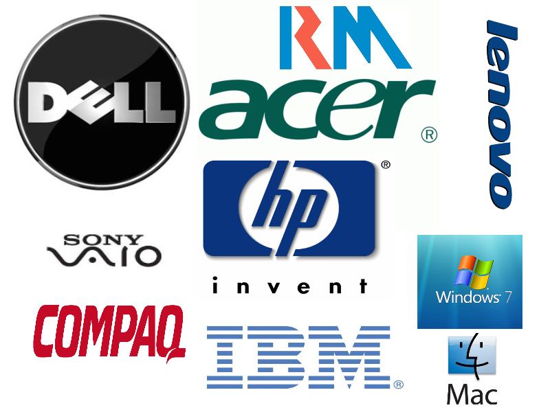 Different brands of computers - Most brands are put together ...