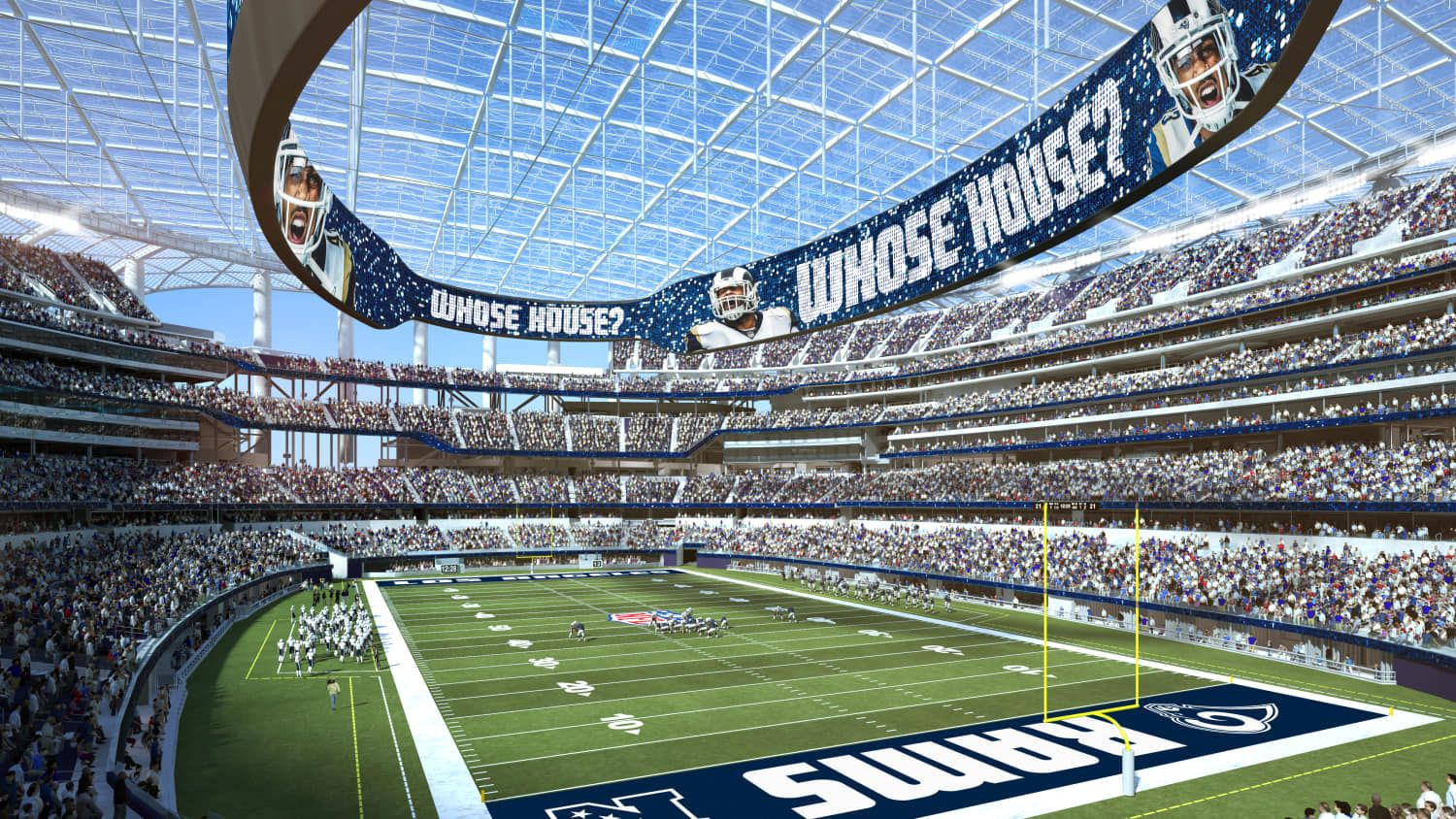 Los Angeles Rams Future New Stadium 2020 Construction In
