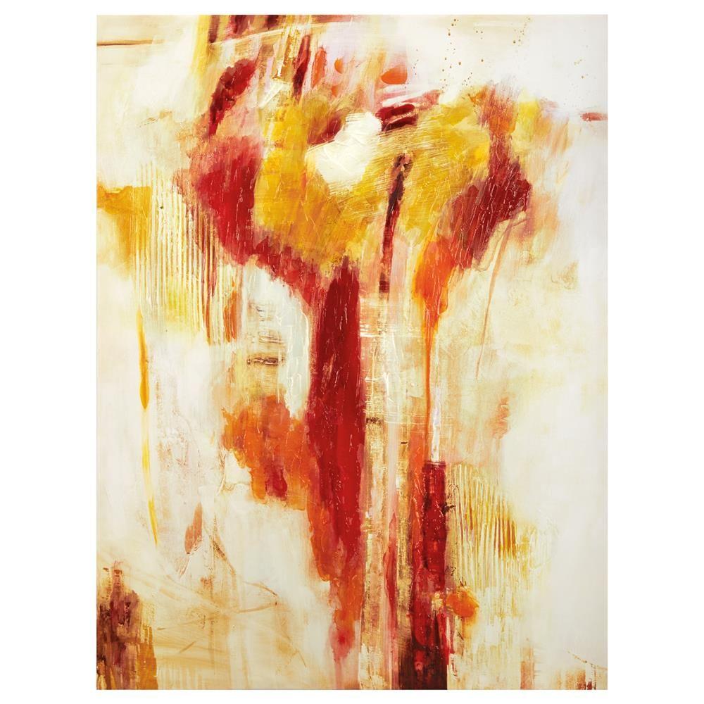Canvas warm colorscanvas framed artwall decorbouclair