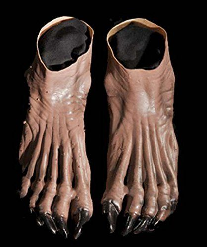 Costumes For All Occasions DU981 Werewolf Feet Brown. Adult OSFM 0. & Costumes For All Occasions DU981 Werewolf Feet Brown. Adult OSFM 0 ...
