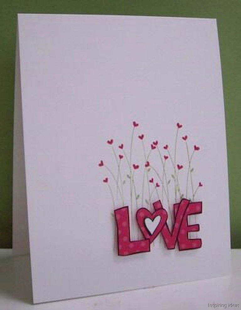 Creative Valentine Cards Homemade Ideas57 With Images