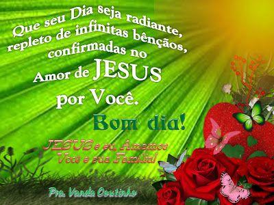 Bom Dia A Graca E A Paz Do Senhor Palavra Oracao