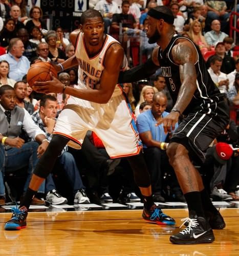 f77d9f467 Kicks On Court: The History of Kevin Durant vs. LeBron James - NiceKicks.com