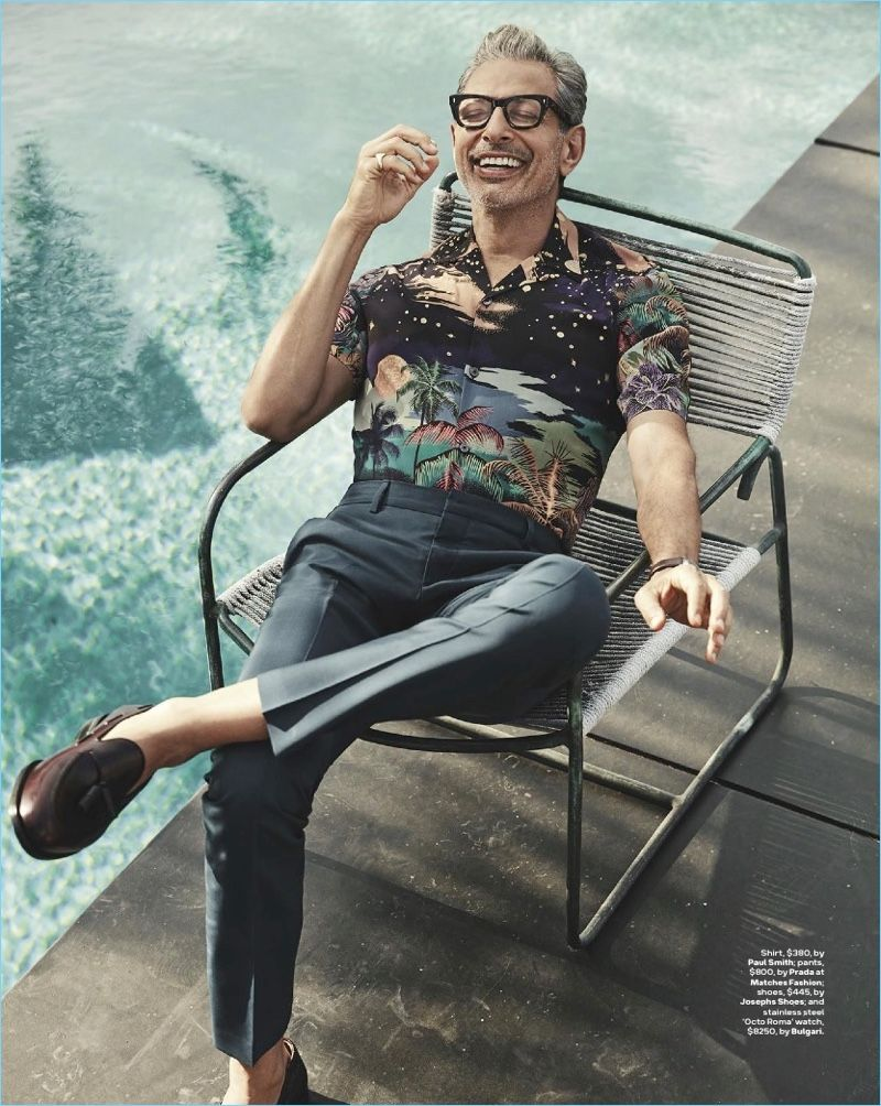 ba012fd422f Jeff Goldblum Covers GQ Australia