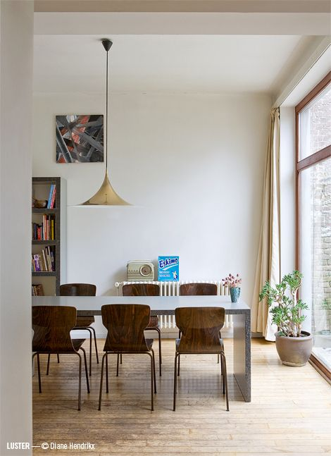 Belgische designers en hun interieur 01 | Dining for two...or More ...