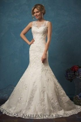 Amelia Sposa Lace Wedding Dresses Silvia