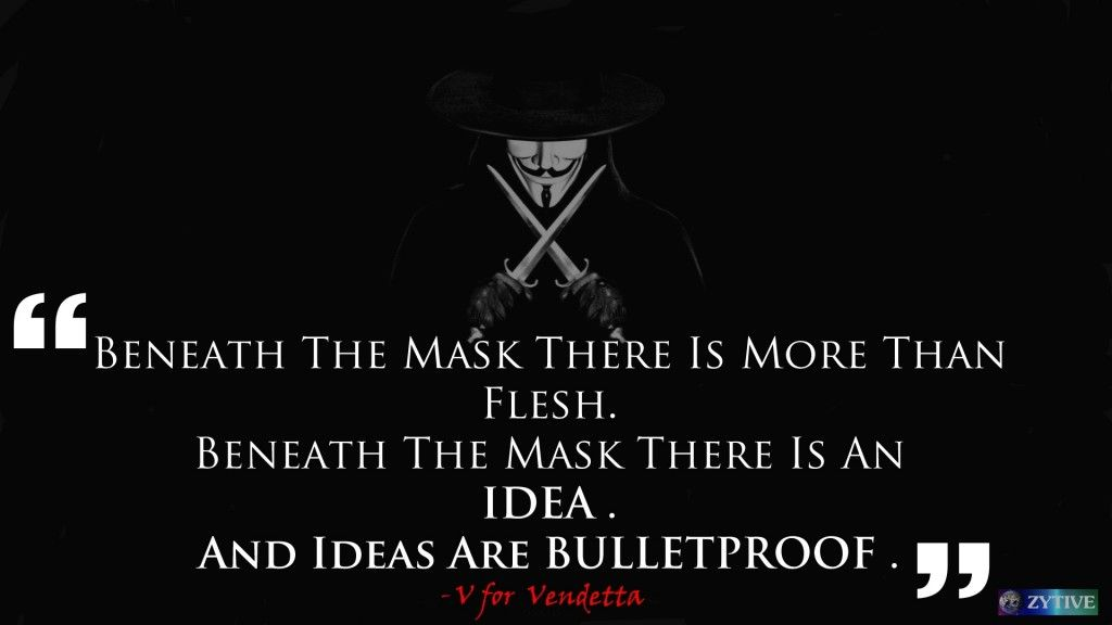 Ozywall Blog Archive Inspirational 2 Ideas Are Bulletproof V For Vendetta Vendetta