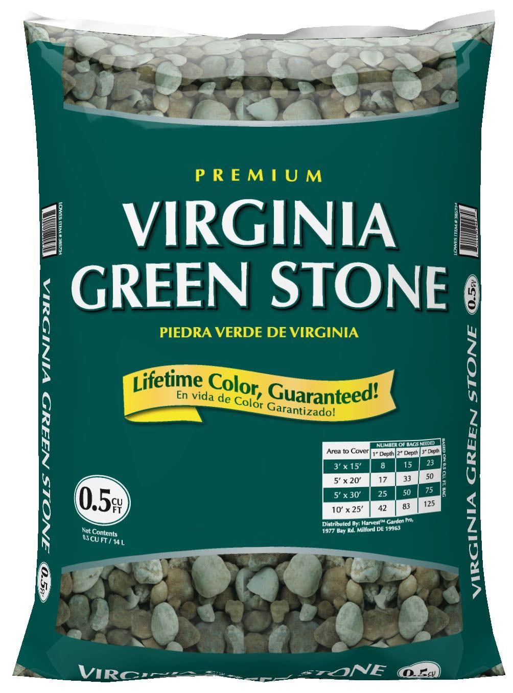 Lowe's Premium 0.5 cu ft Virginia Green Garden Rock   XVGS