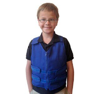 Cool Kids Cooling Vest With Cool58 Cooling Packs Cooling Vest