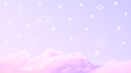Pastel Purple Aesthetic Laptop Wallpaper