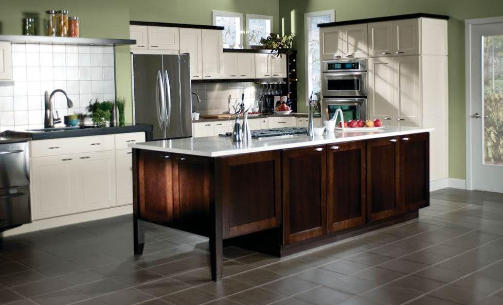 Best Merillat Classic Tolani Maple Chiffon Cabinets Kitchen 400 x 300