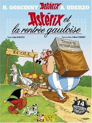 astérix la bd | ... BD Asterix, tome 32 : Astérix et la rentrée gauloise - Coin BD