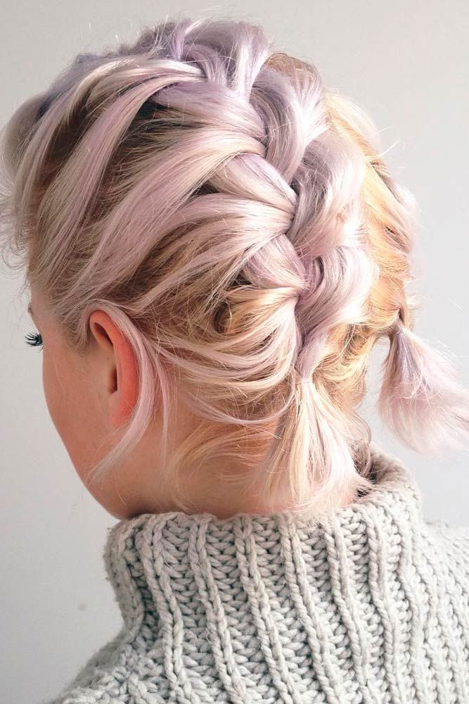 30 So Cute Easy Hairstyles for Short Hair | Pinterest | Easy ...