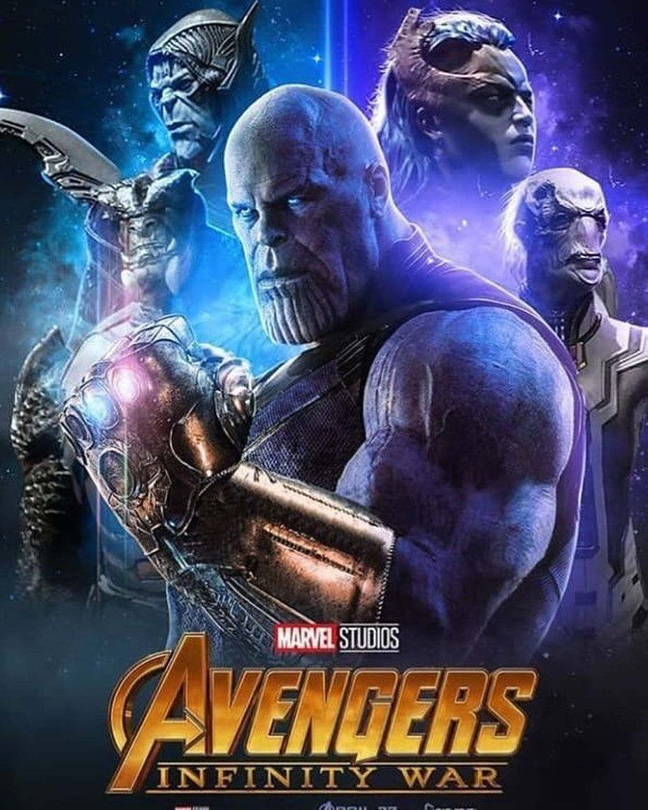 Thanos & The Black Order #infinitywar #infinitygauntlet