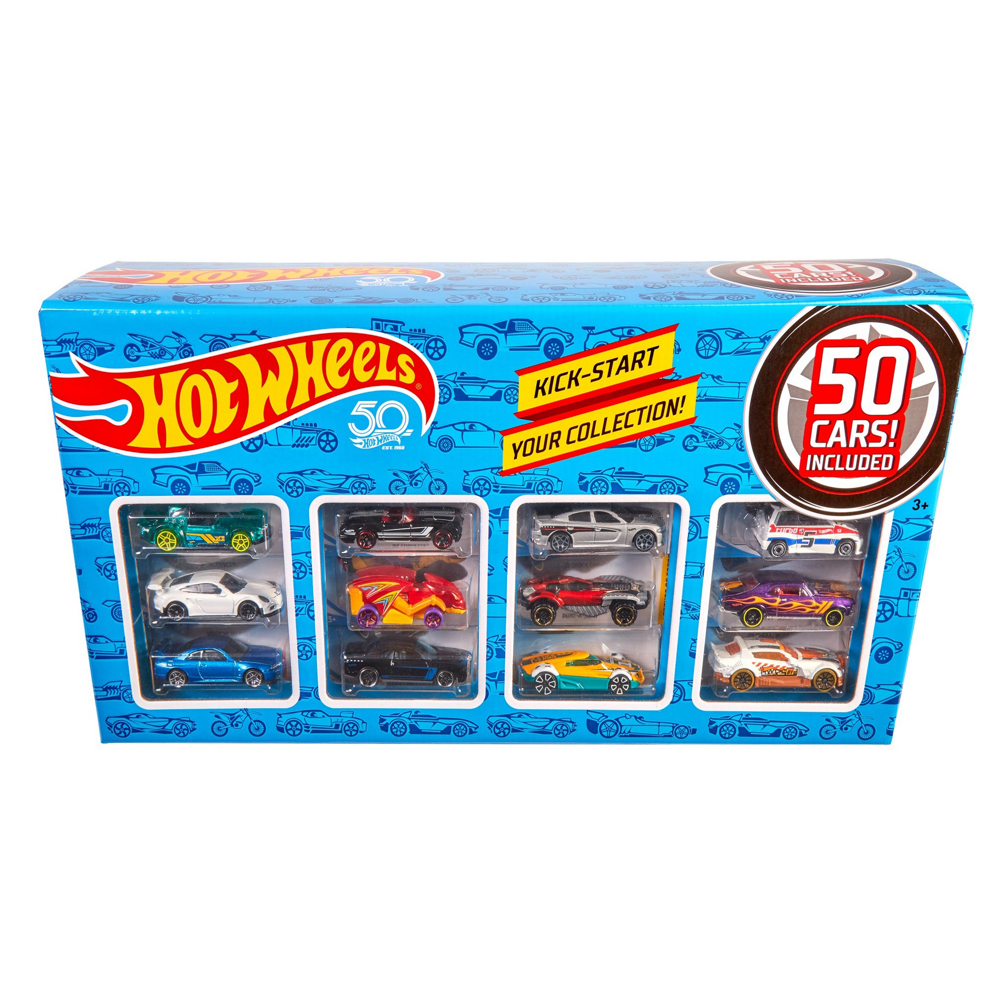 Hot Wheels 50 Car Pack, toy vehicles Hot wheels, Car
