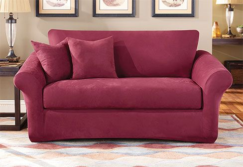 Slipcover And Have Loose Back Cushions